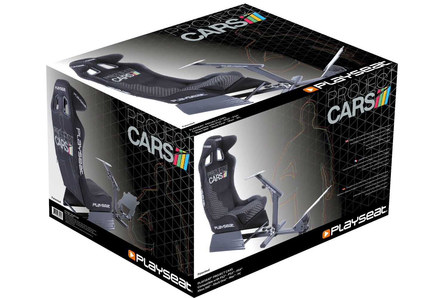 Playseat Project Cars Edition Video Game Chair