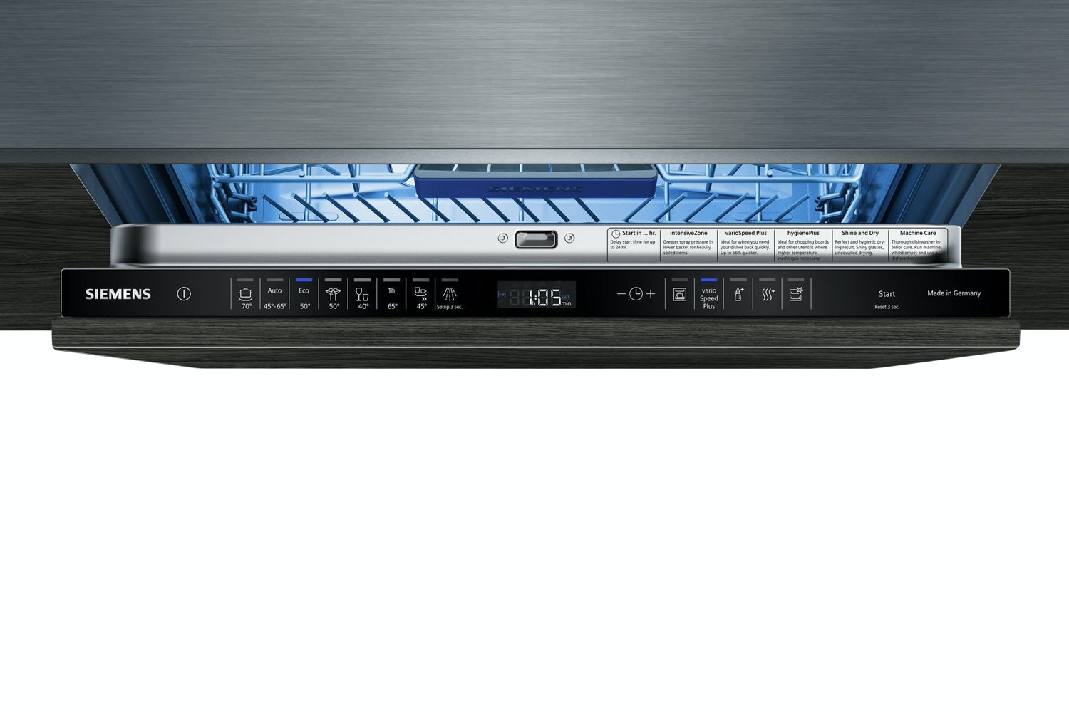 Siemens Fully Integrated Dishwasher | 13 Place | SN658D01MG