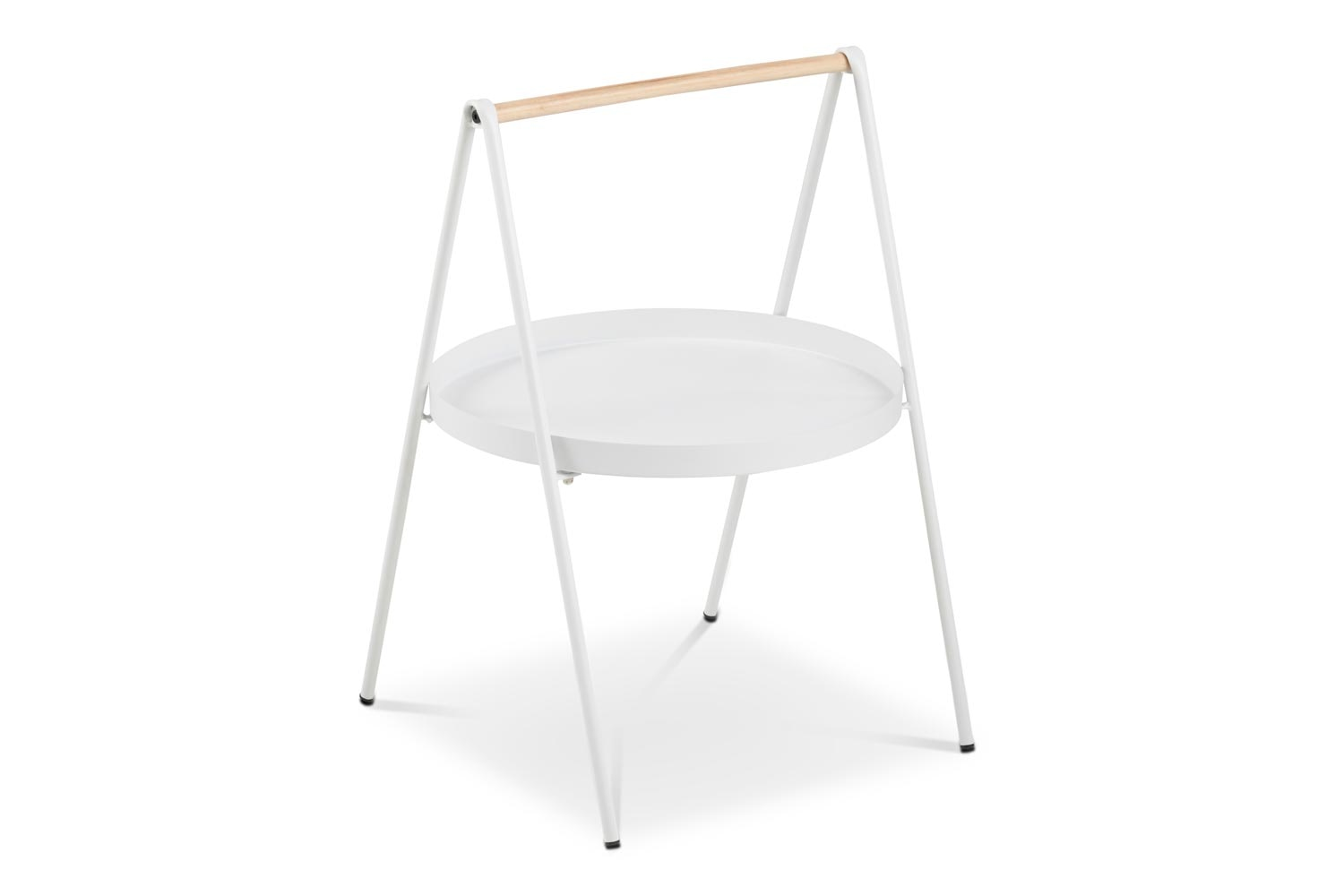 Slop Lamp Table Round | White