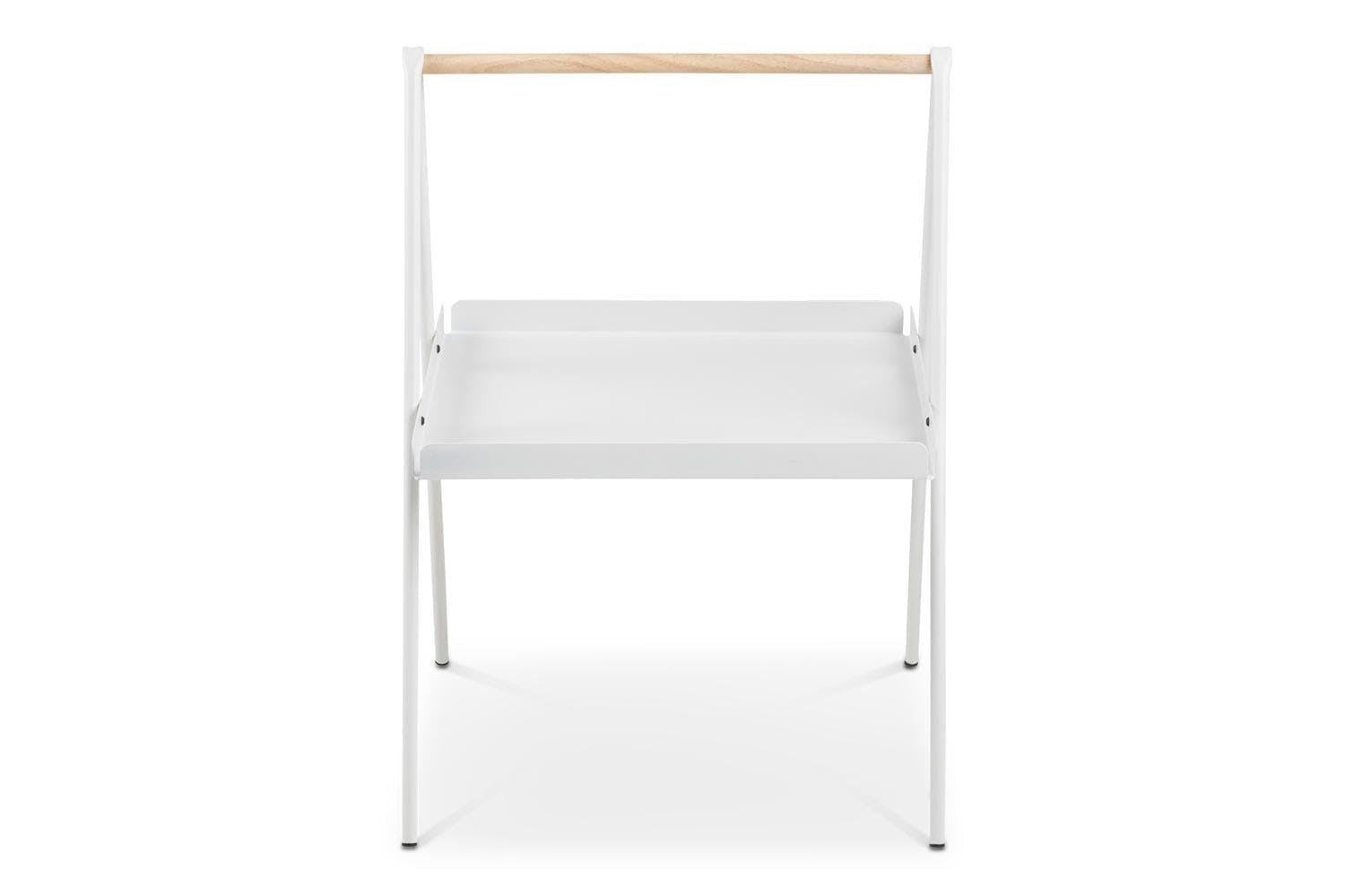 Slop Lamp Table Rectangular | White