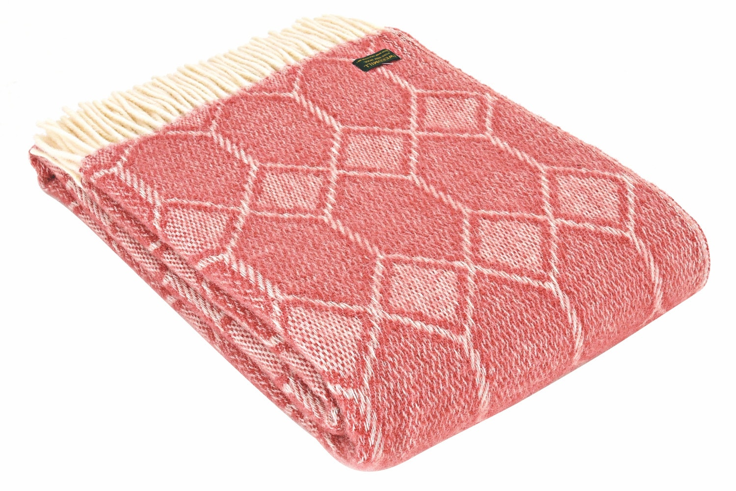 Churchpane Throw | Cranberry