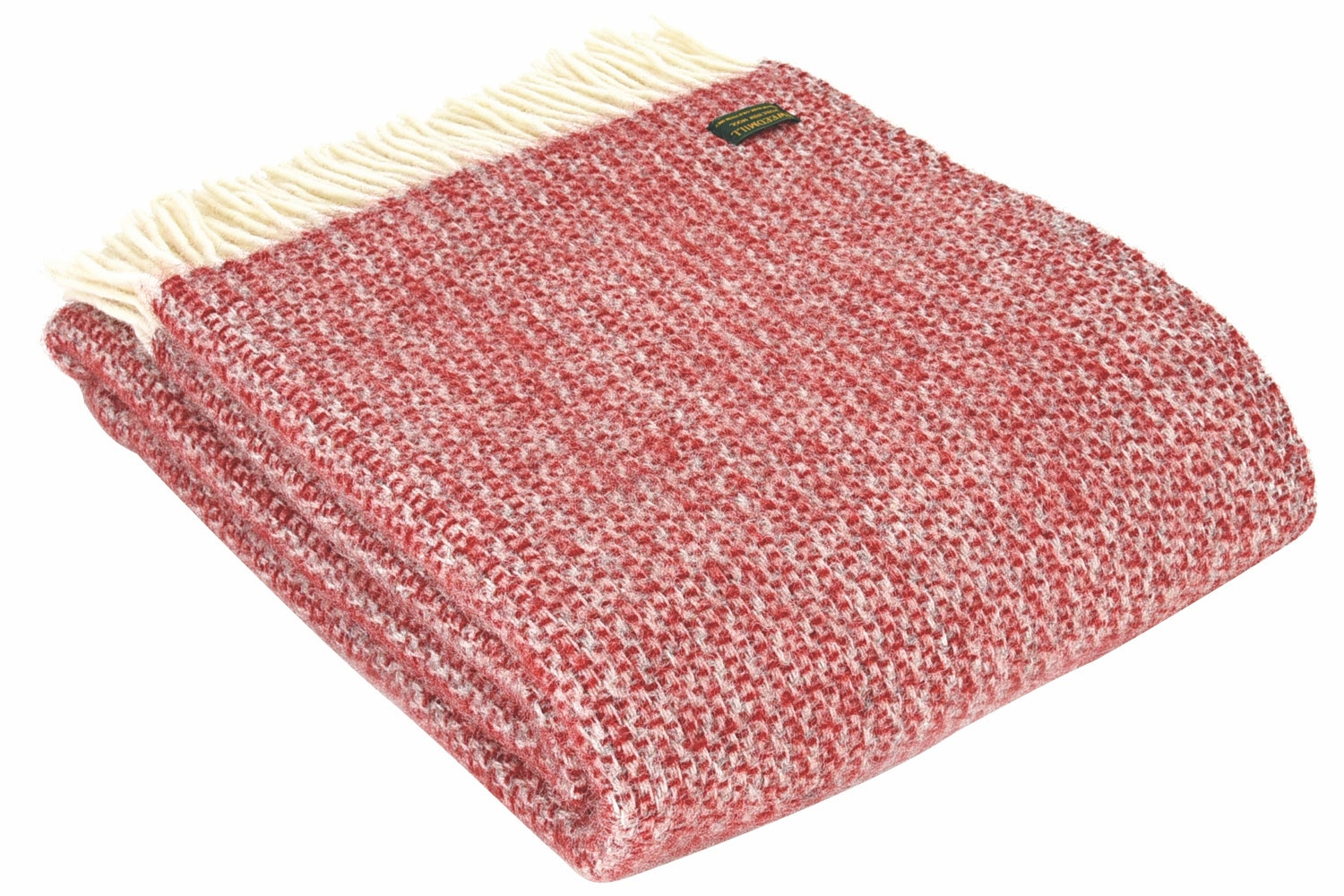 Illusion Throw | Red & Silver