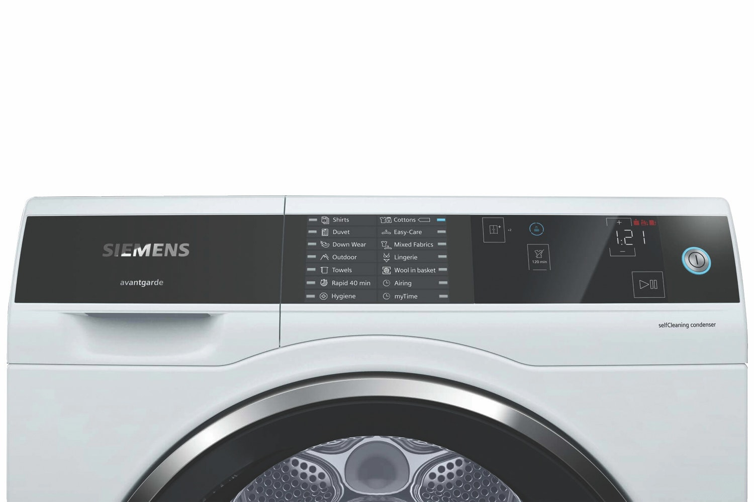 Siemens 8kg Heat Pump Tumble Dryer | WT7UH640GB