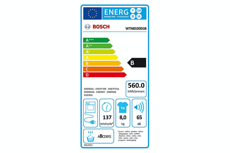 Bosch Freestanding Condenser Tumble Dryer | WTN83200GB