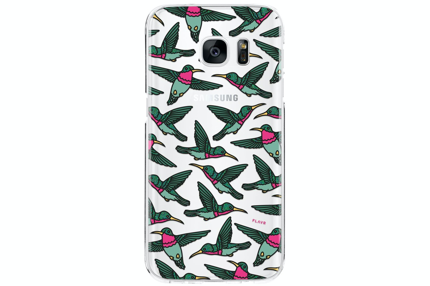 Flavr Hummingbirds Case For Samsung Galaxy S7 | Multi Coloured