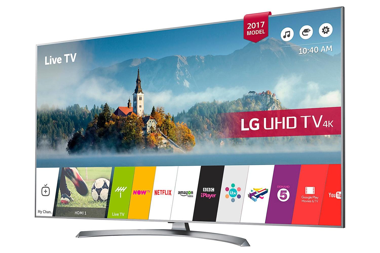 "LG 55"" 4K Ultra HD LED TV | 55UJ750V"