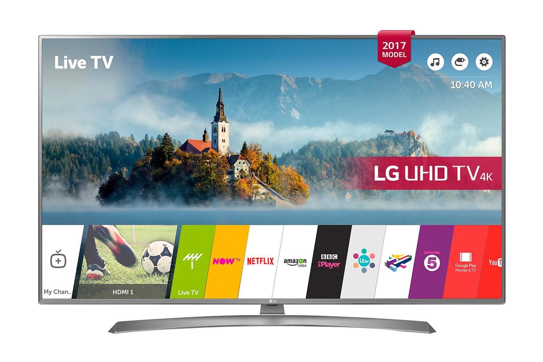 "LG 65"" 4K Ultra HD Smart LED TV   65UJ670V"
