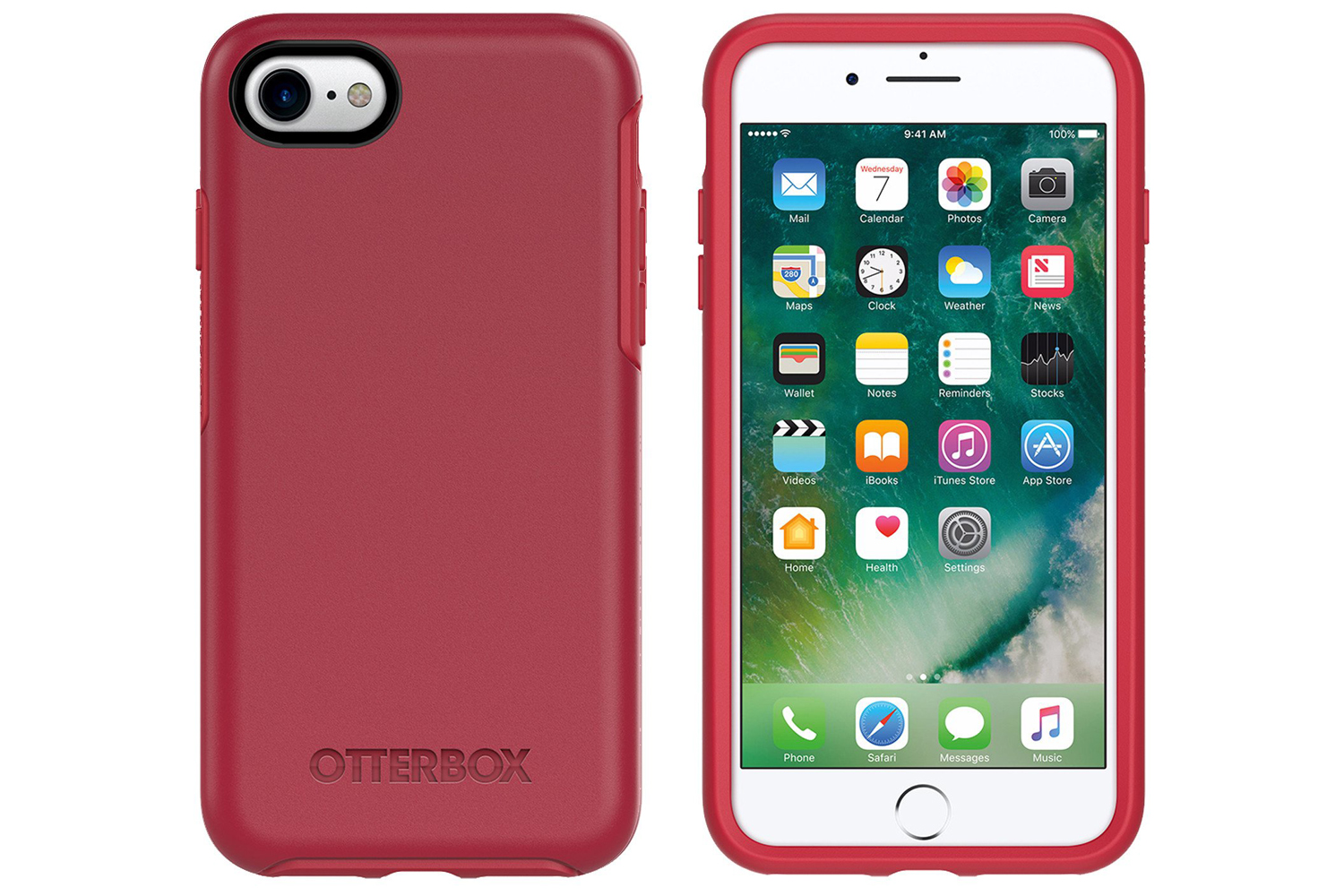 d6654a2757 OtterBox Symmetry Series iPhone 7 Case | Red | Ireland