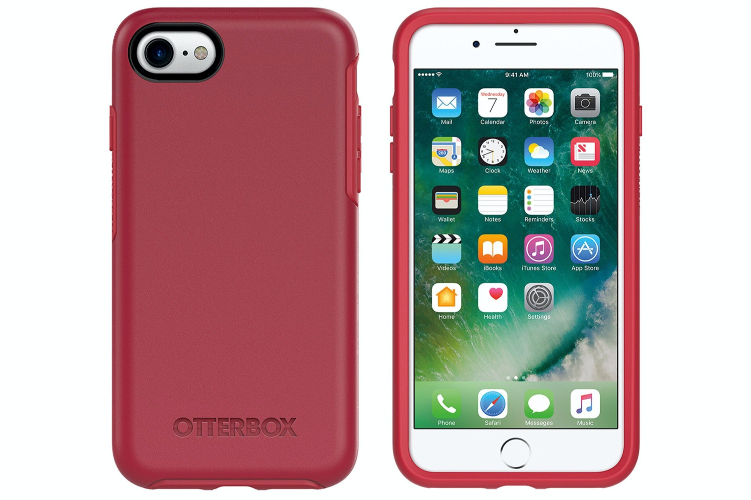 OtterBox Symmetry Series iPhone 7 Case | Red