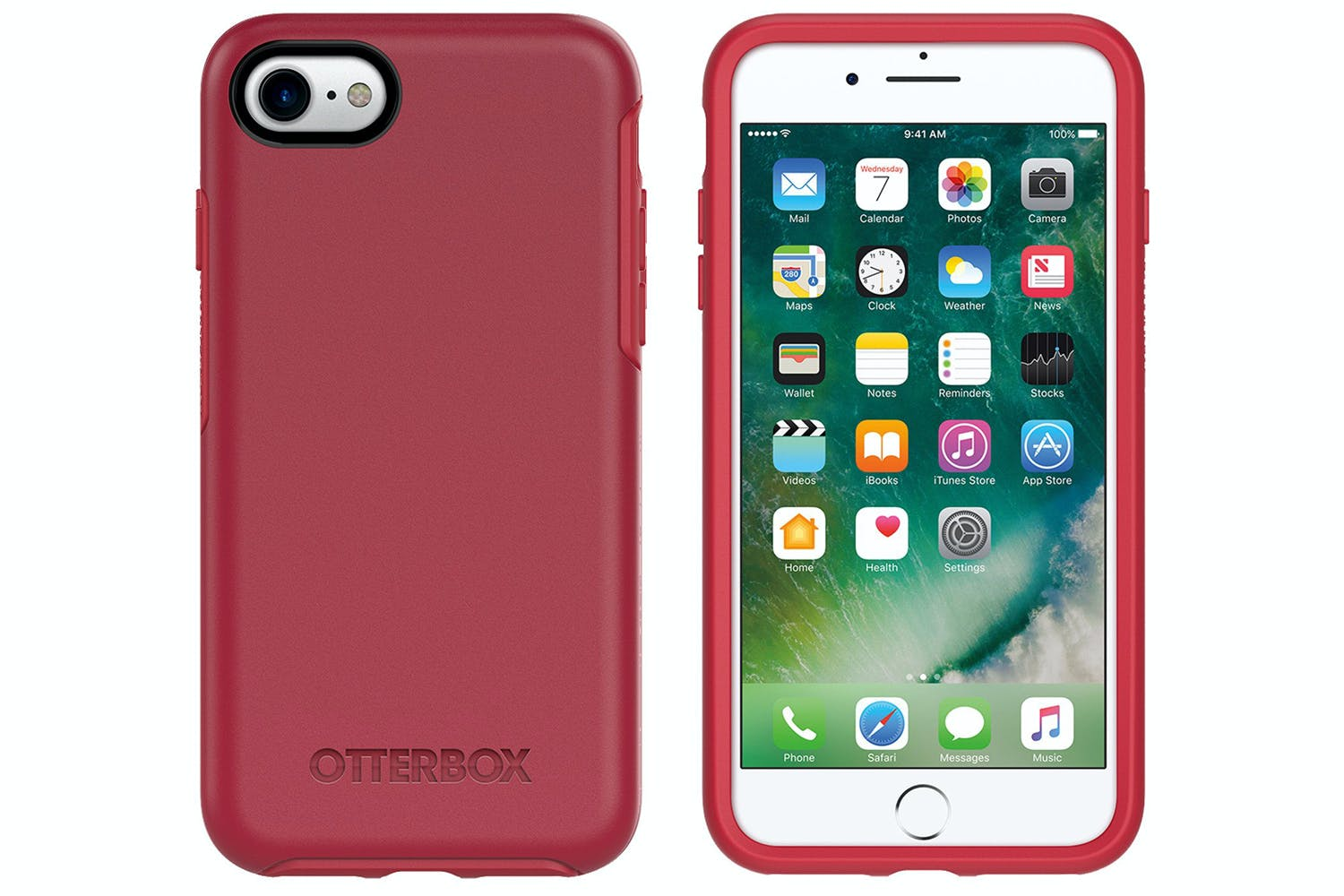 new product 83c47 b4753 Otterbox Symmetry Series iPhone 7 Case | Red