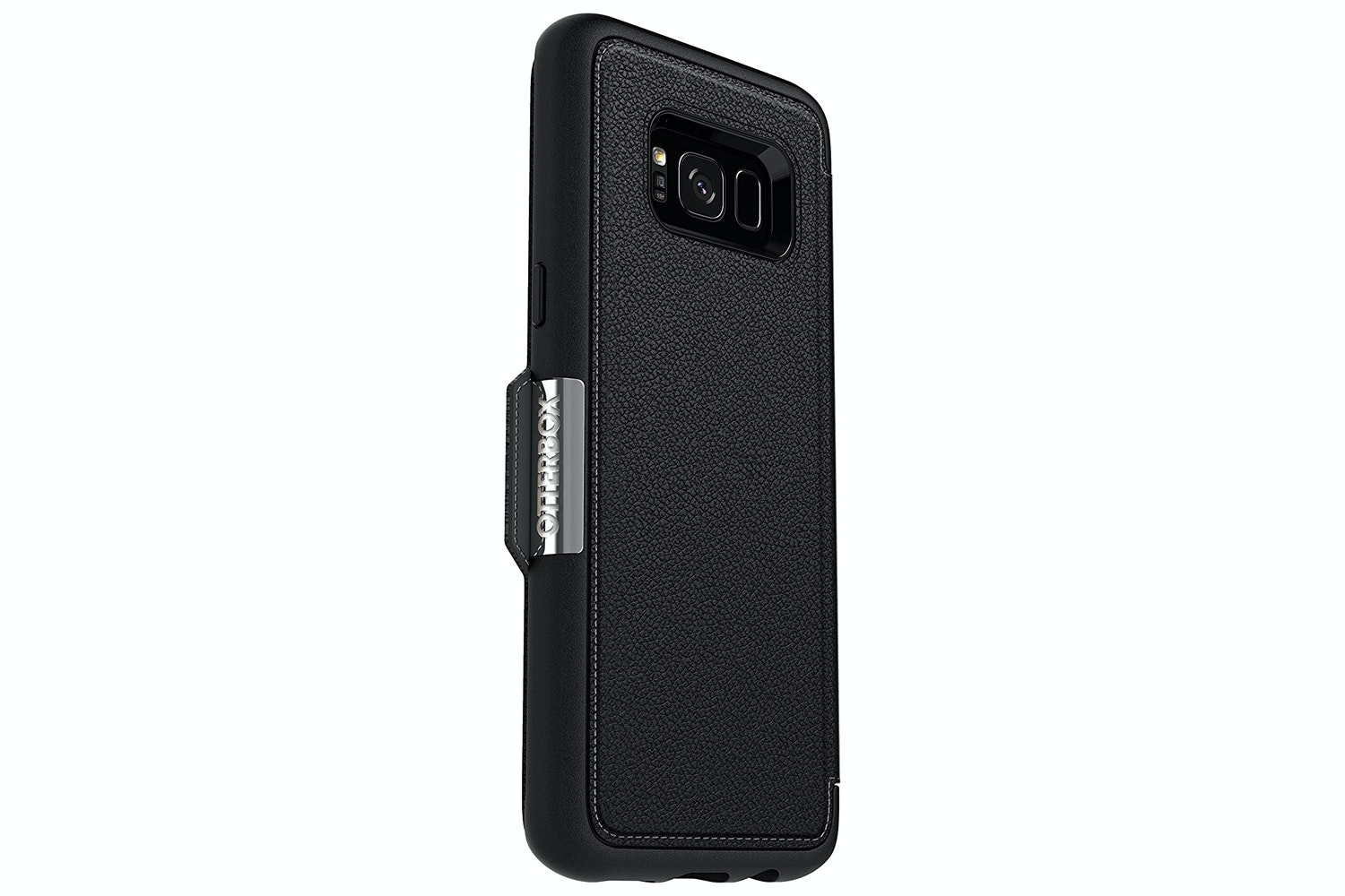Otterbox Galaxy S8 Strada Series Folio Case | Black