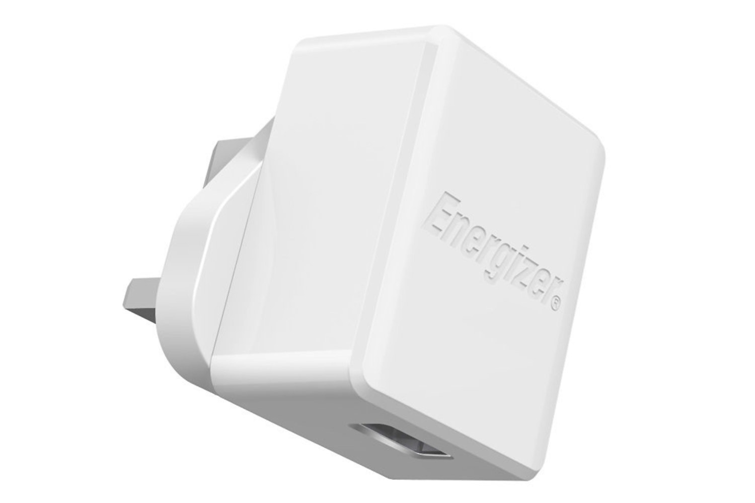 Energizer 2.4A 1 USB Wall Charger With Lightning Cable | White