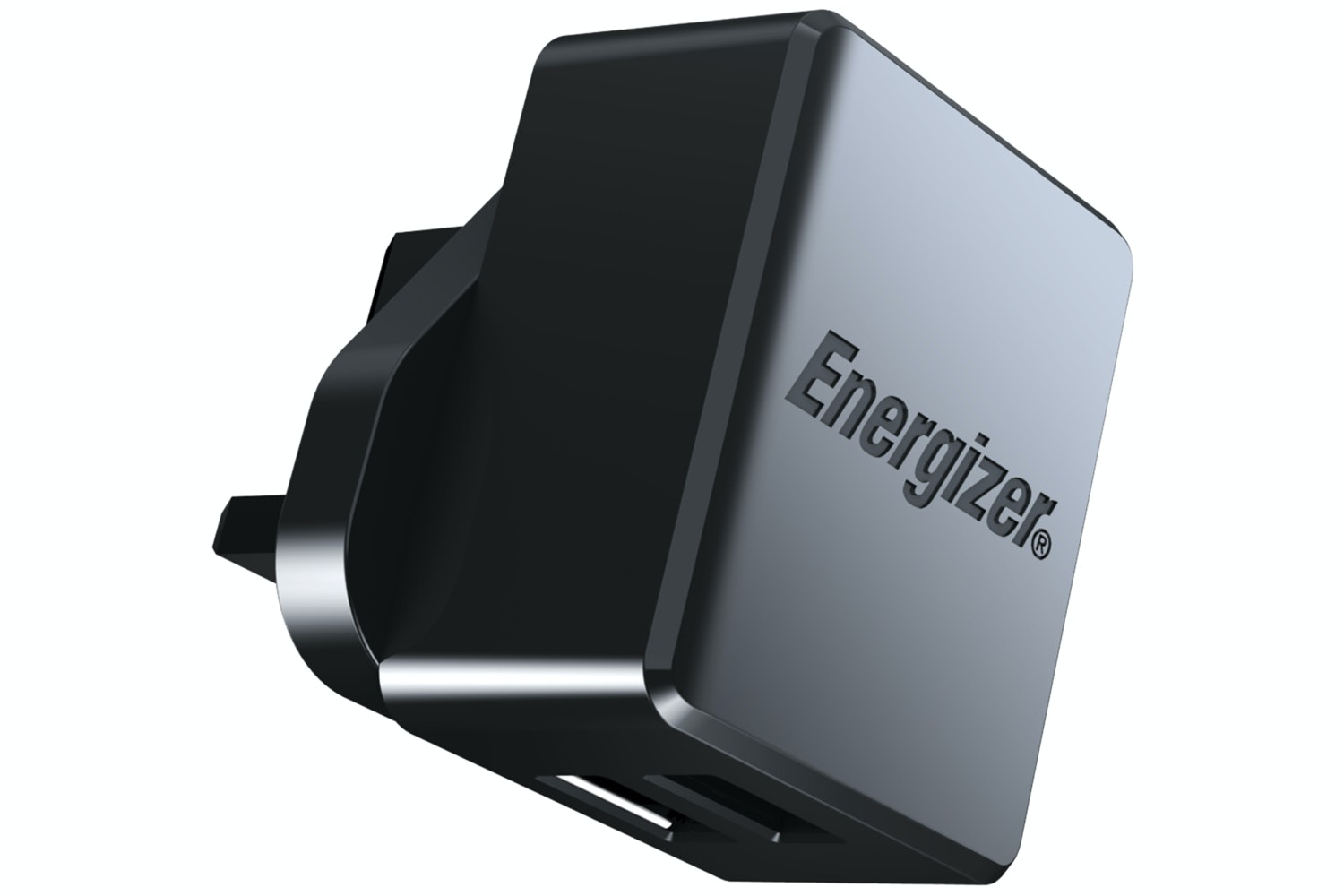 Energizer Hightech 2.4A Dual USB Wall Charger | Black