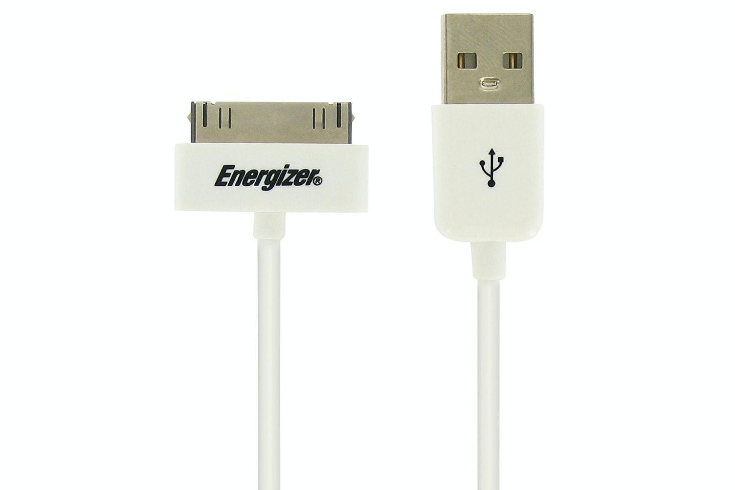 Energizer 30 Pin USB Cable White | 1.2m