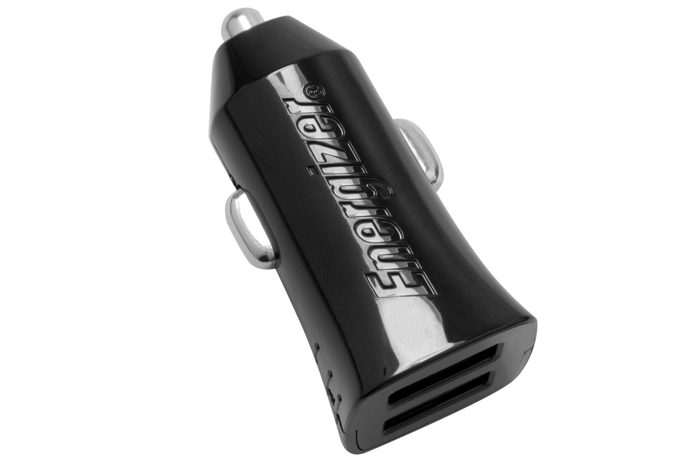Energizer 4.8A Dual USB Car Charger   Black