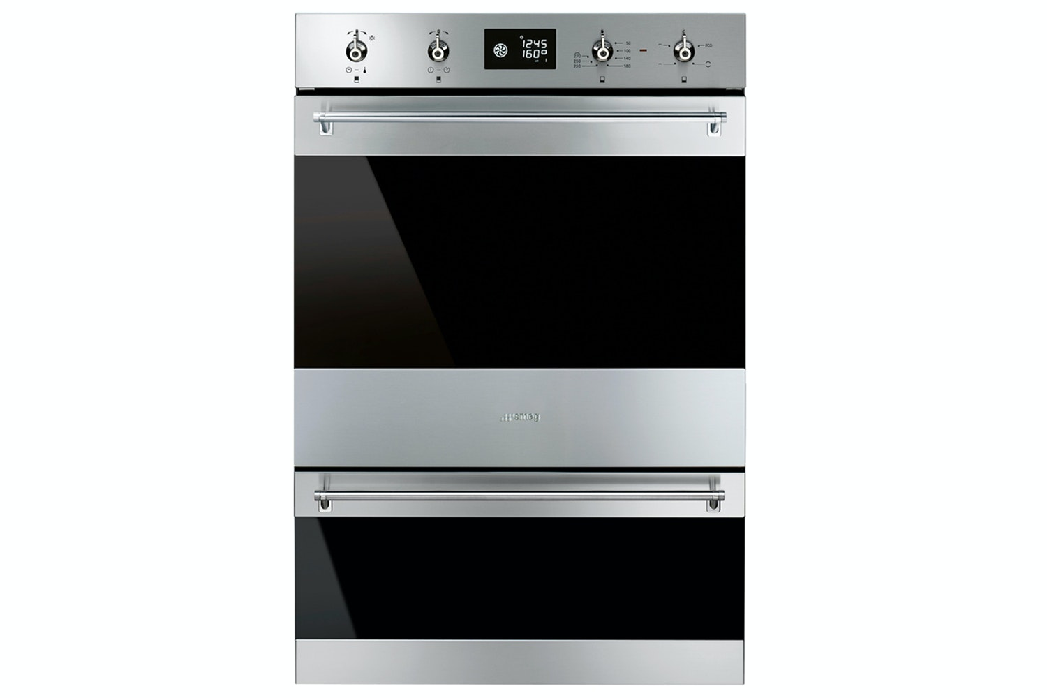 Smeg Built In Double Oven | DOSP6390X | Stainless Steel