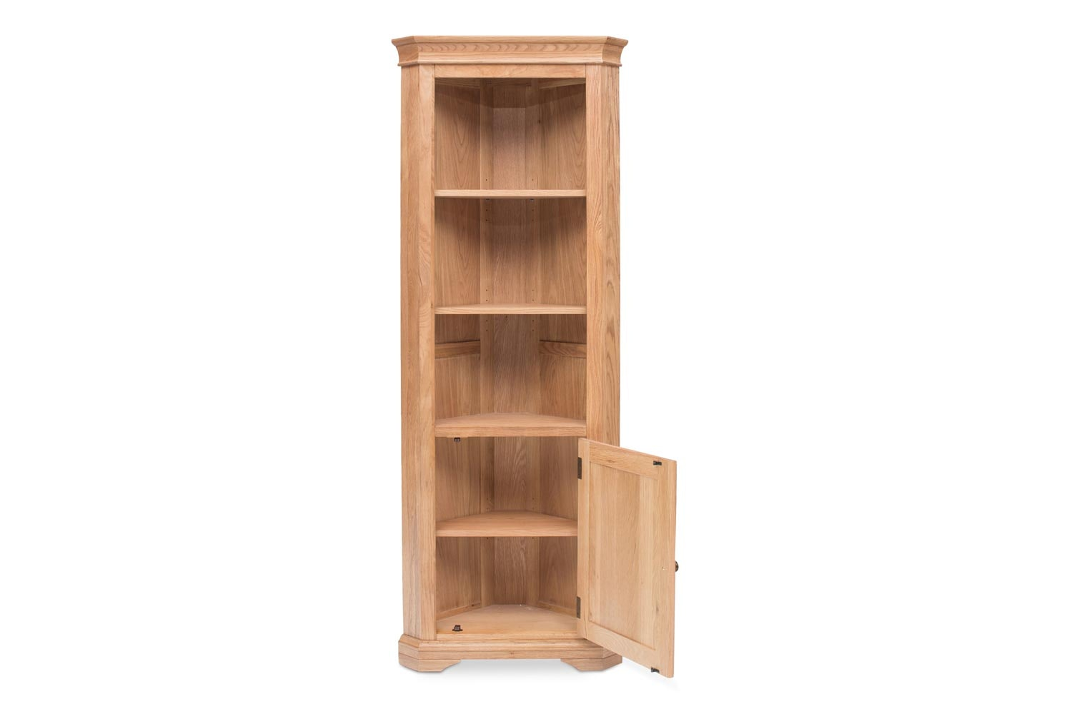 Prunella Corner Display Cabinet