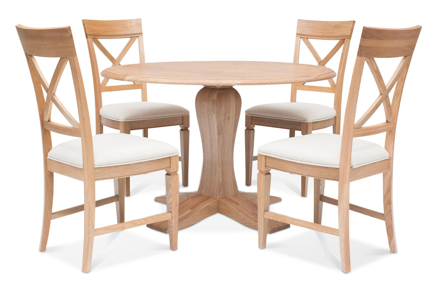 Prunella 5pc Dining Set | Round Table