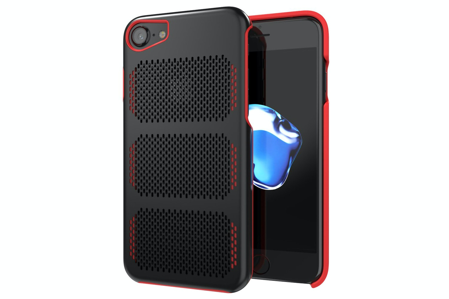 IOM Extreme GT iPhone 7 Case | Black & Red