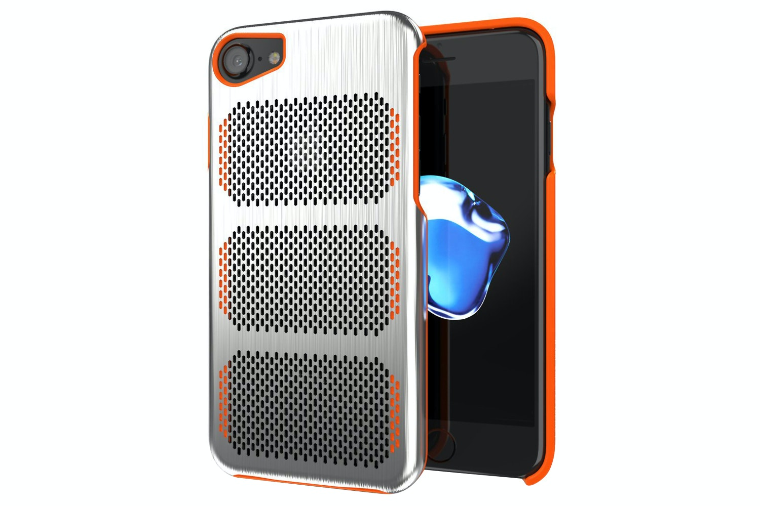 IOM Extreme GT iPhone 7 Case | Steel & Orange