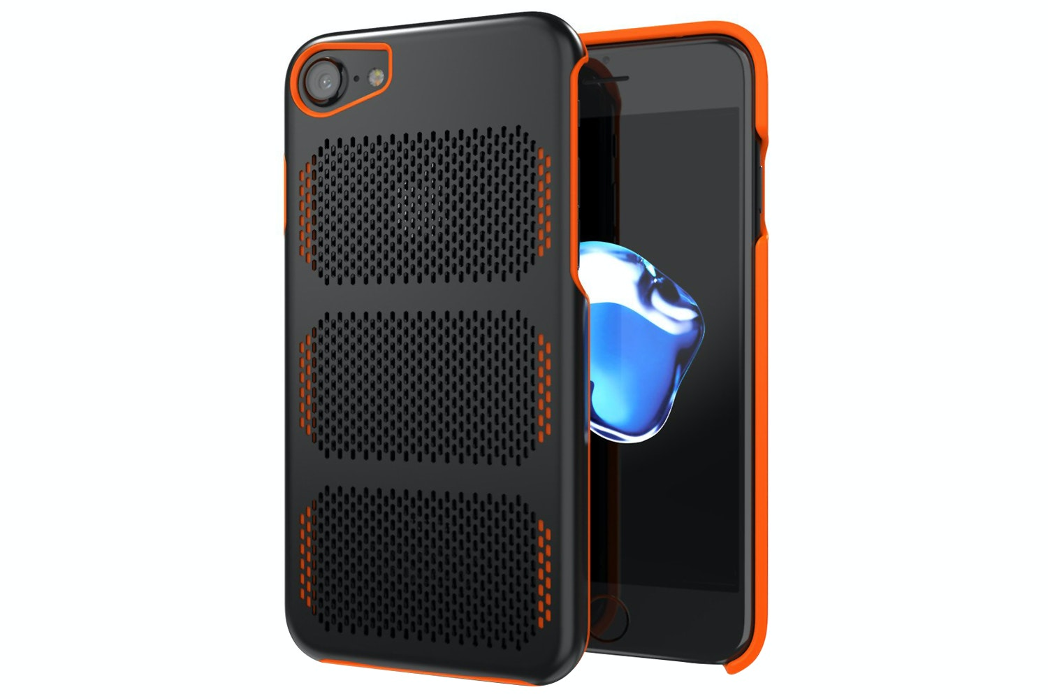IOM Extreme GT iPhone 7 Case | Black & Orange