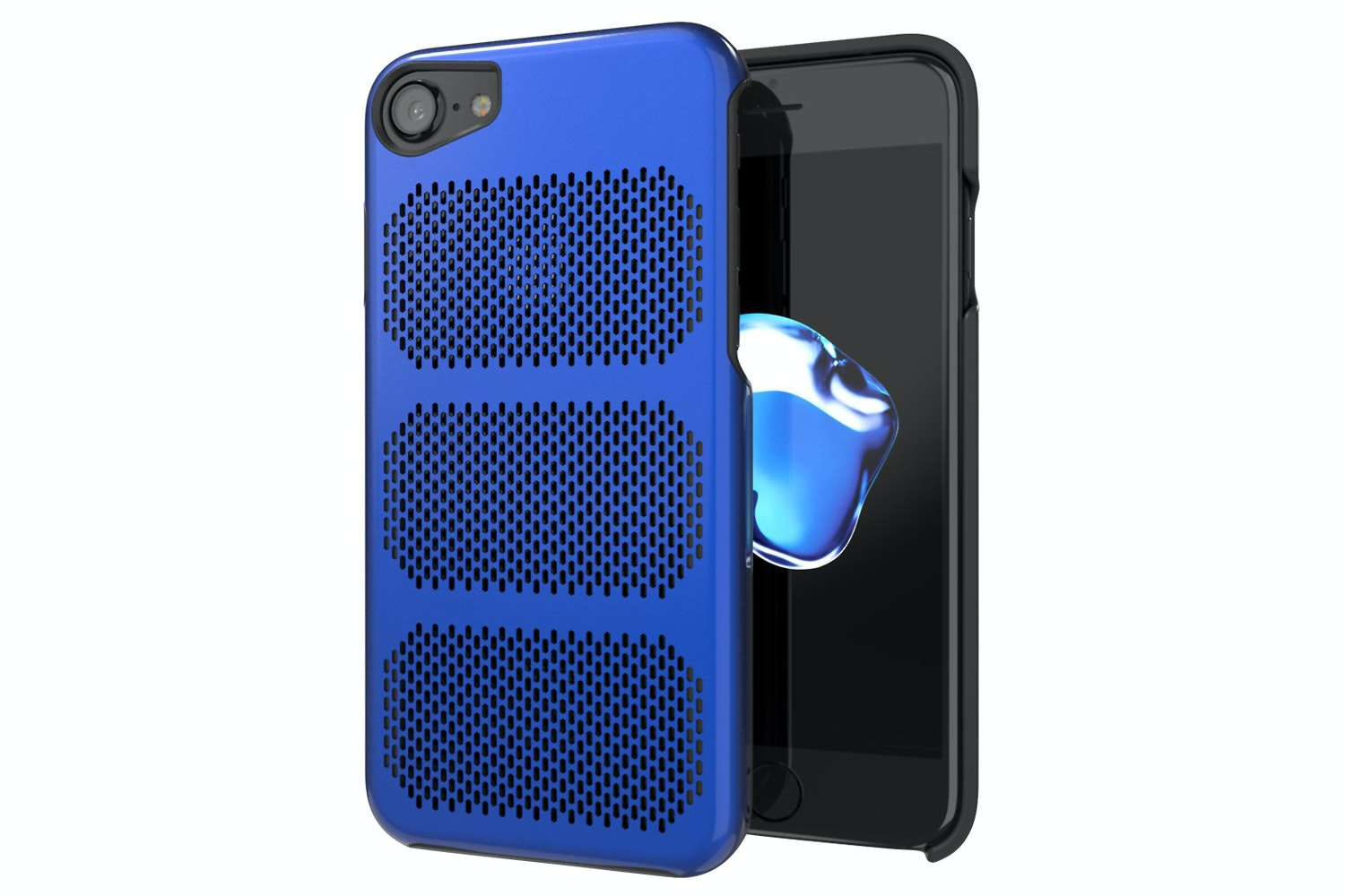 IOM Extreme GT iPhone 7 Plus Case | Exotic Blue & Black