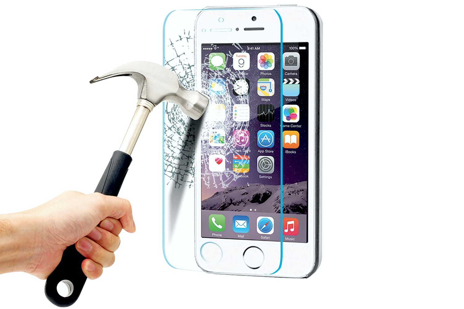 Energizer Tempered Glass for iPhone 5s