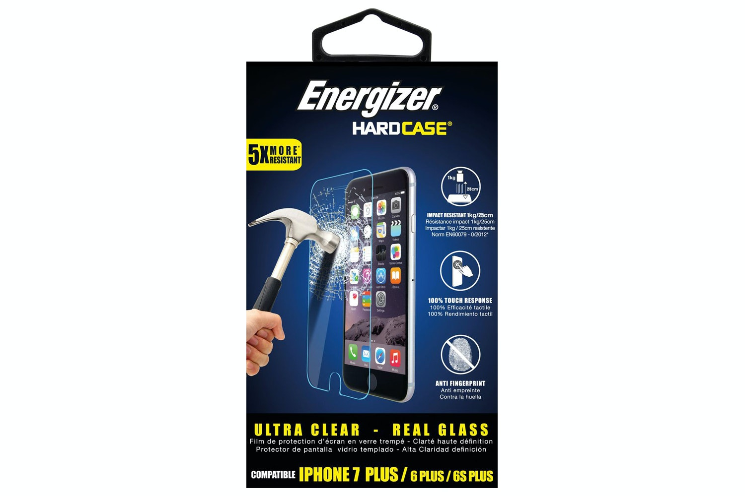 Energizer iPhone 7 Plus Screen Protector | White