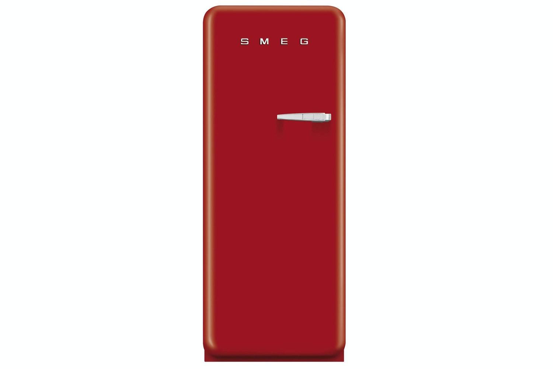 Smeg Freestanding Fridge Freezer Red | FAB28YR1