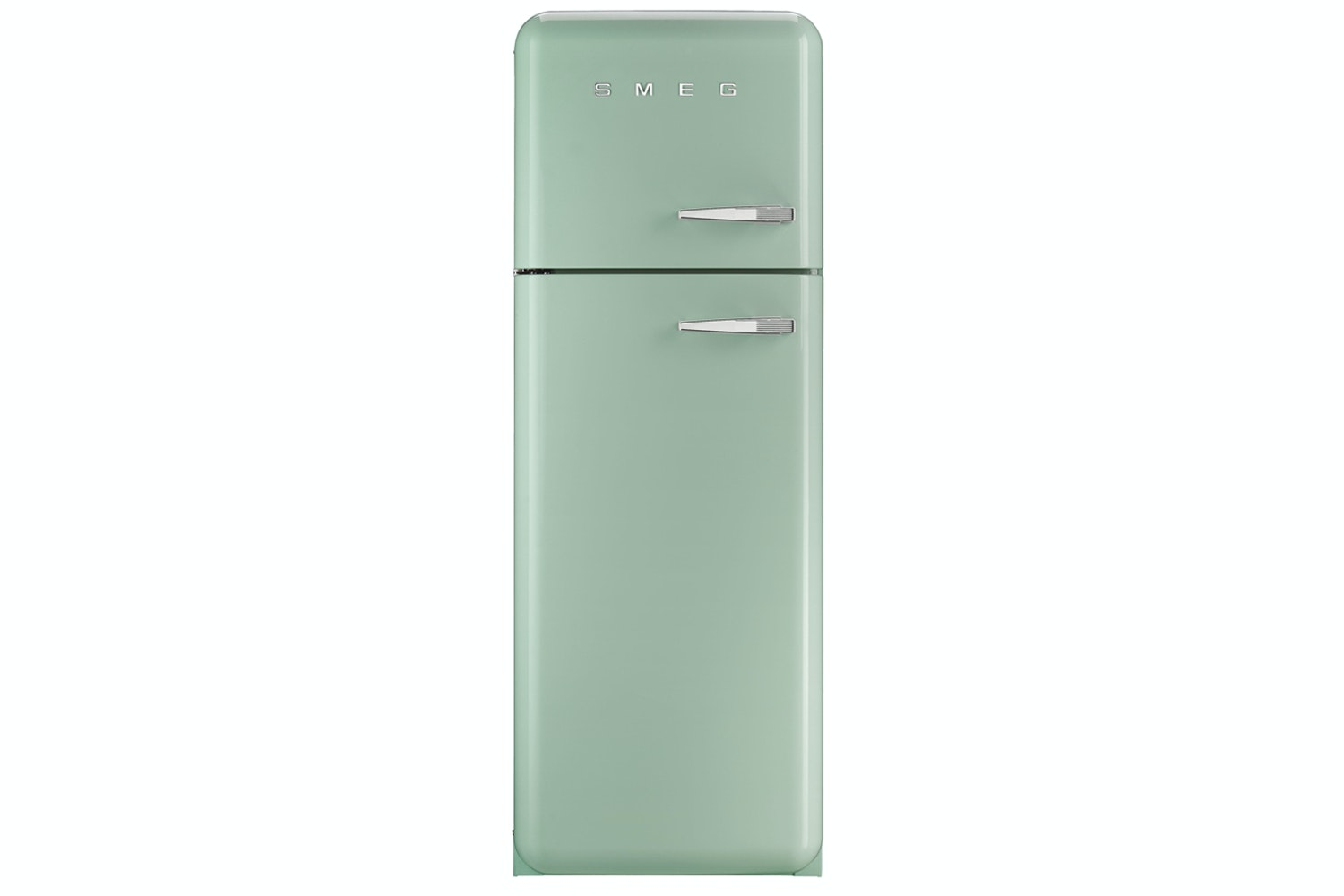 Smeg Freestanding Fridge Freezer Pale Green | FAB30LFG