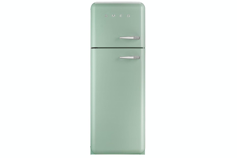 Smeg Freestanding Fridge Freezer Pale Green | FAB30LFG