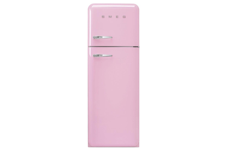 Smeg Freestanding Fridge Freezer | Pink
