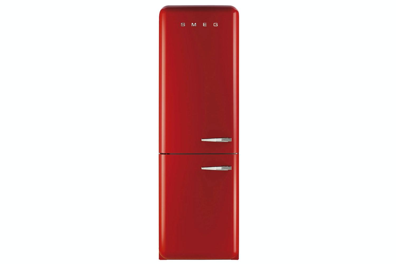 Smeg Freestanding Fridge Freezer | FAB32LNR | Red