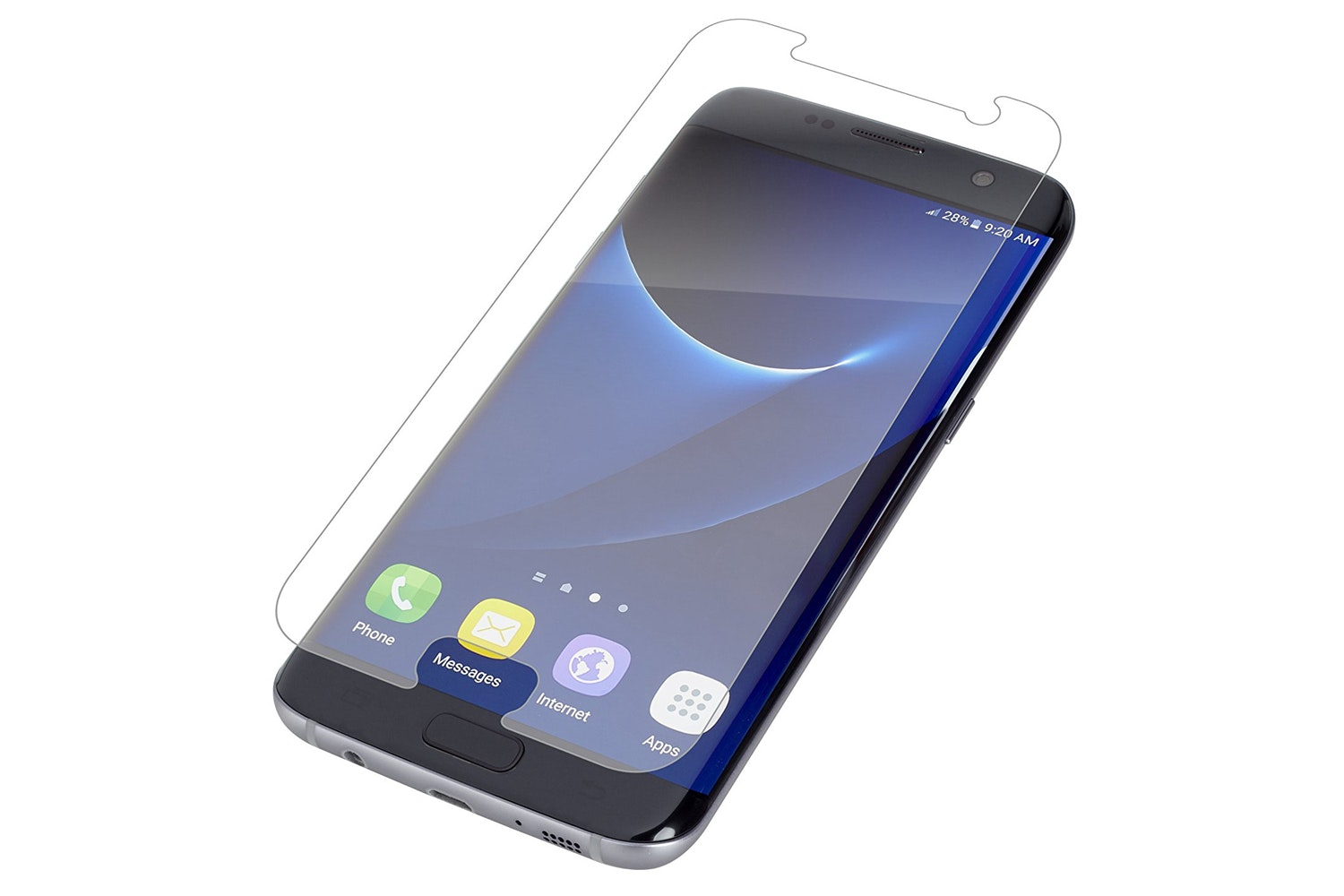 Zagg Glass Screen Protector For Samsung Galaxy S7 Edge