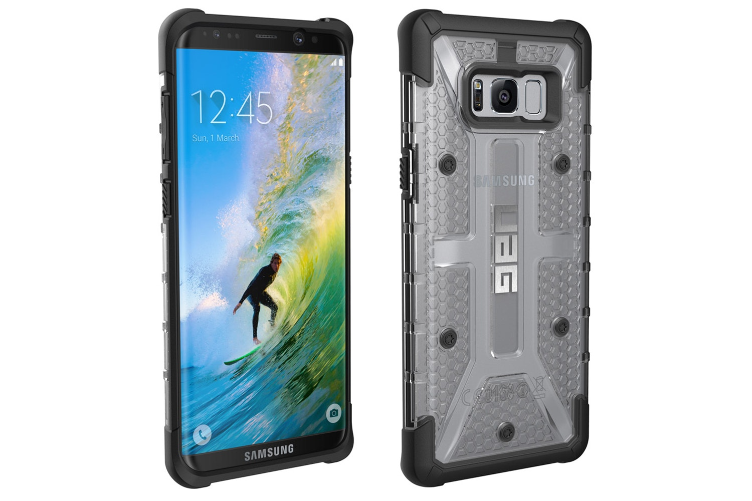 UAG Plasma Case for Galaxy S8 Plus | Ice