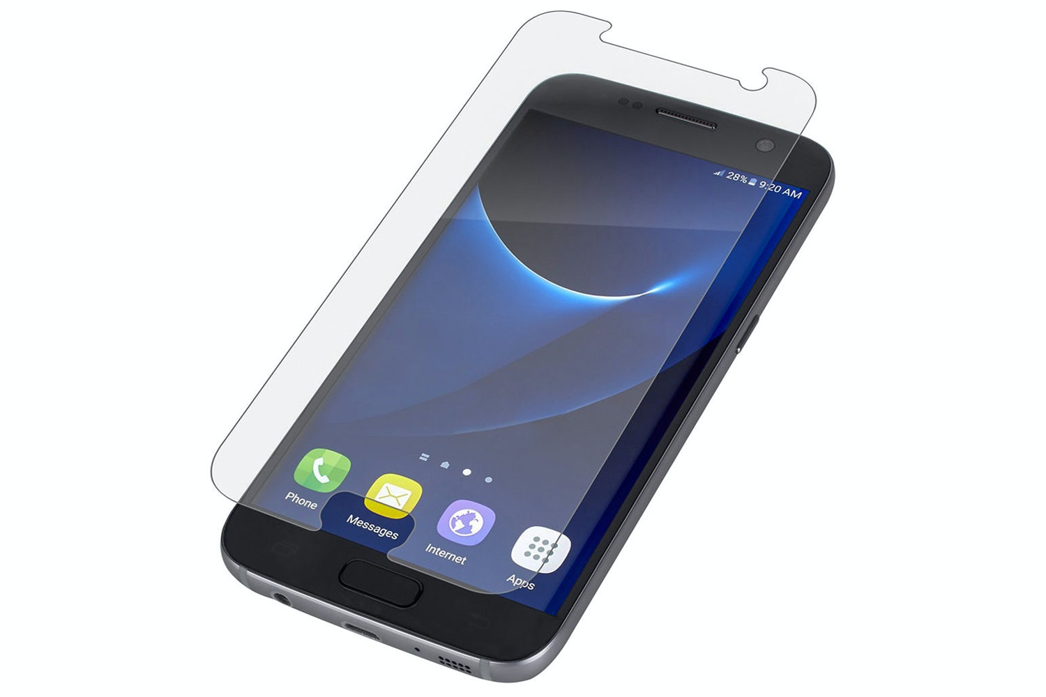 Zagg Glass Screen Protector For Samsung Galaxy S7