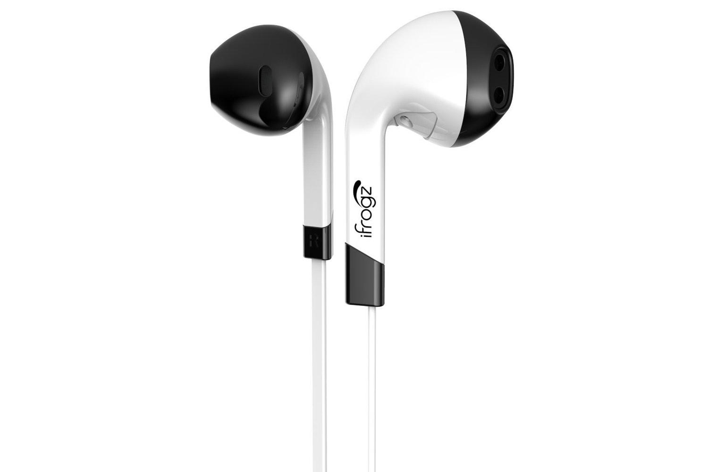 iFrogz Audio InTone Headphones with Microphone | White