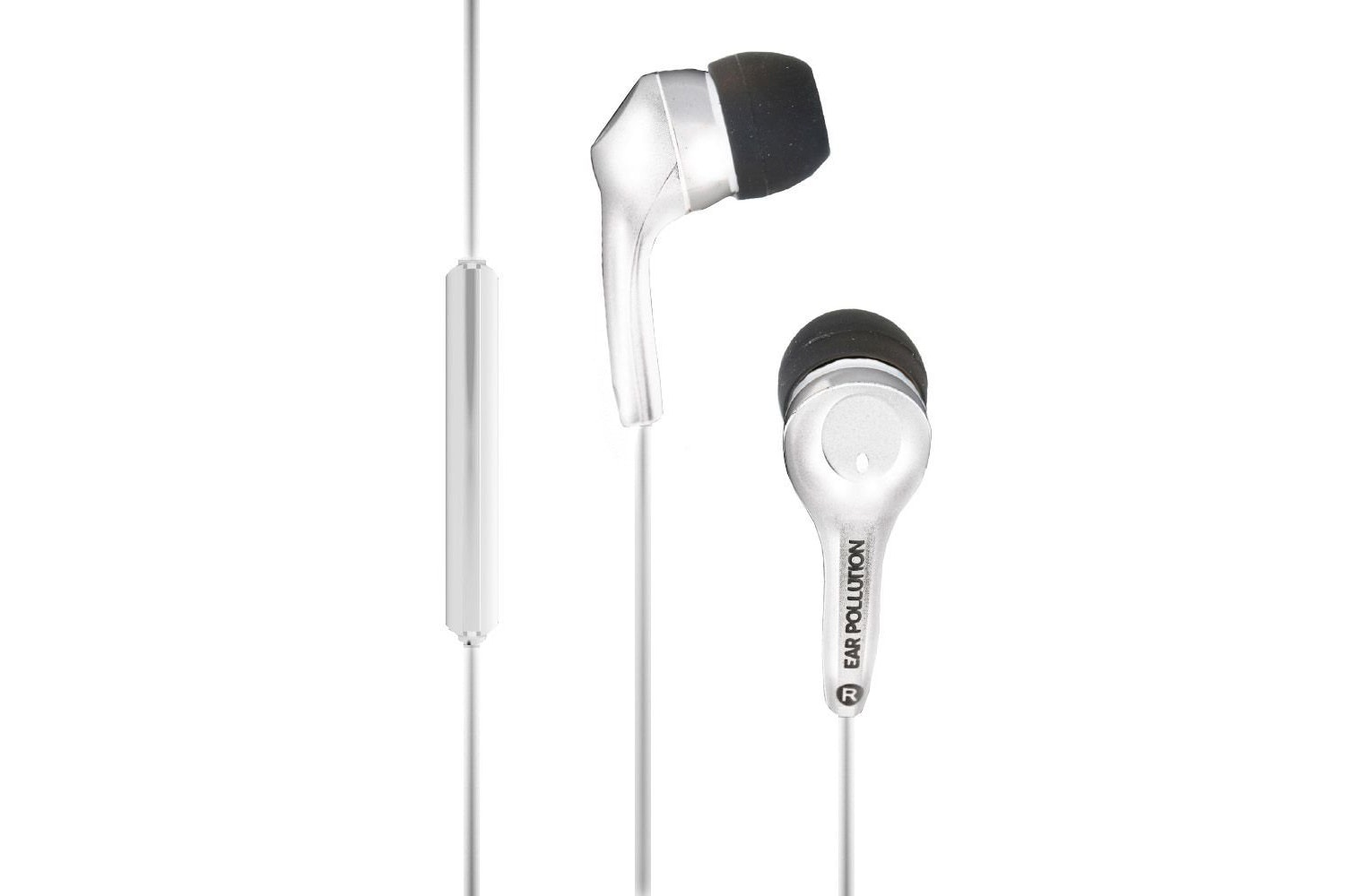Ifrogz Bolt Earphones With Mic | White
