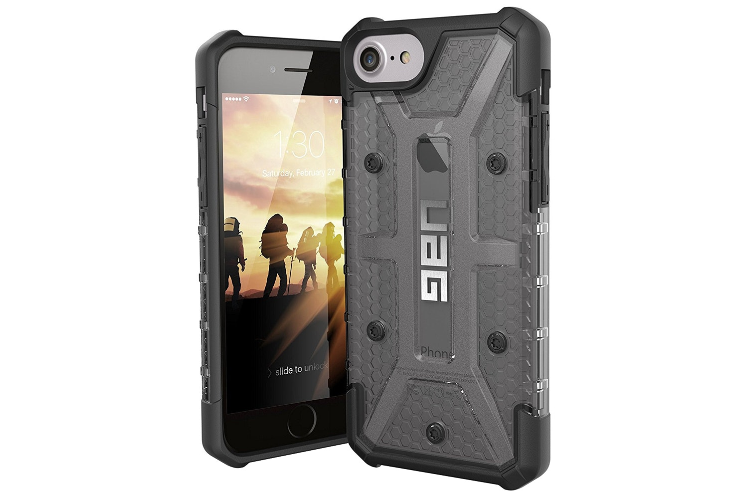 UAG Plasma iPhone 7 Case | Ash