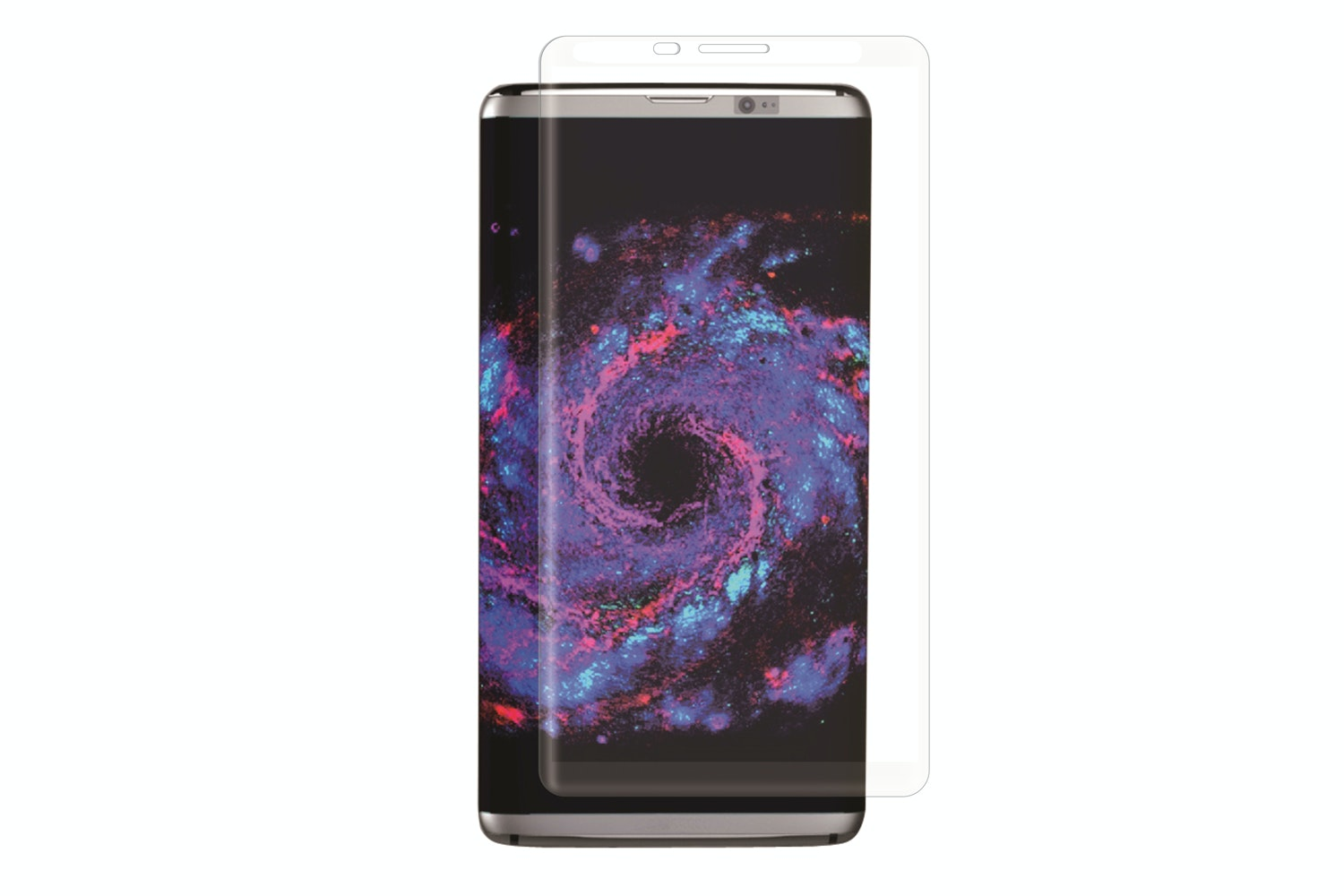 Muvit Curved Glass Screen Protector For Galaxy S8 | Transparent