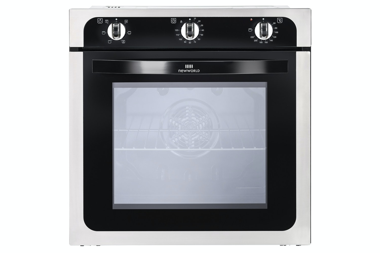 New World 60cm Built-In Single Oven | NW602FSS