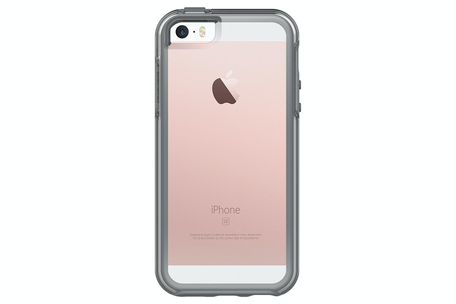 Otterbox Symmetry Series Case For iPhone SE | Clear Grey