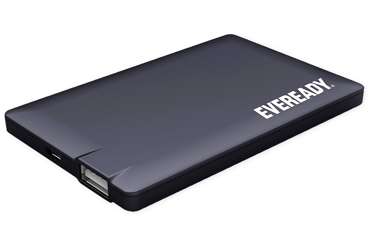Eveready 2500mAh Portable Power Bank | Black