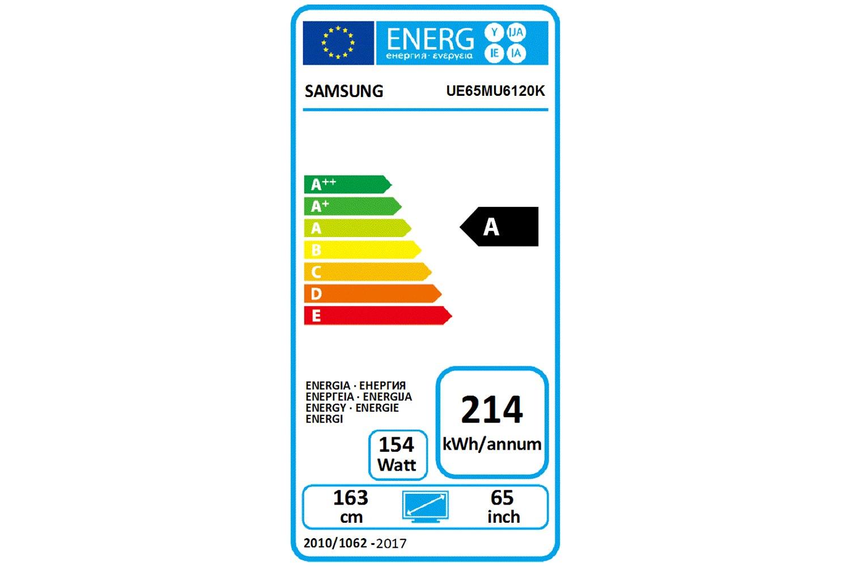 "Samsung 65"" Smart Ultra HD LED TV | UE65MU6120KXXU"