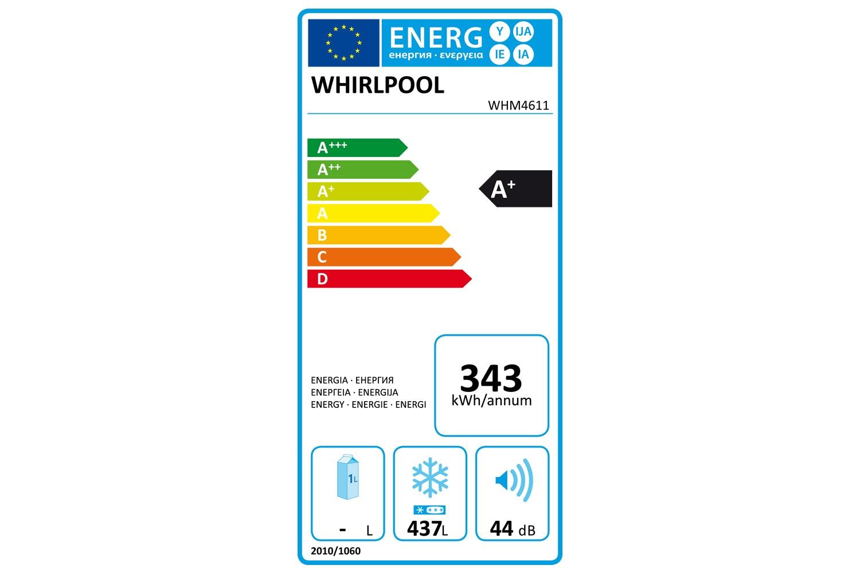 Whirlpool 460L Chest Freezer   WHM4611