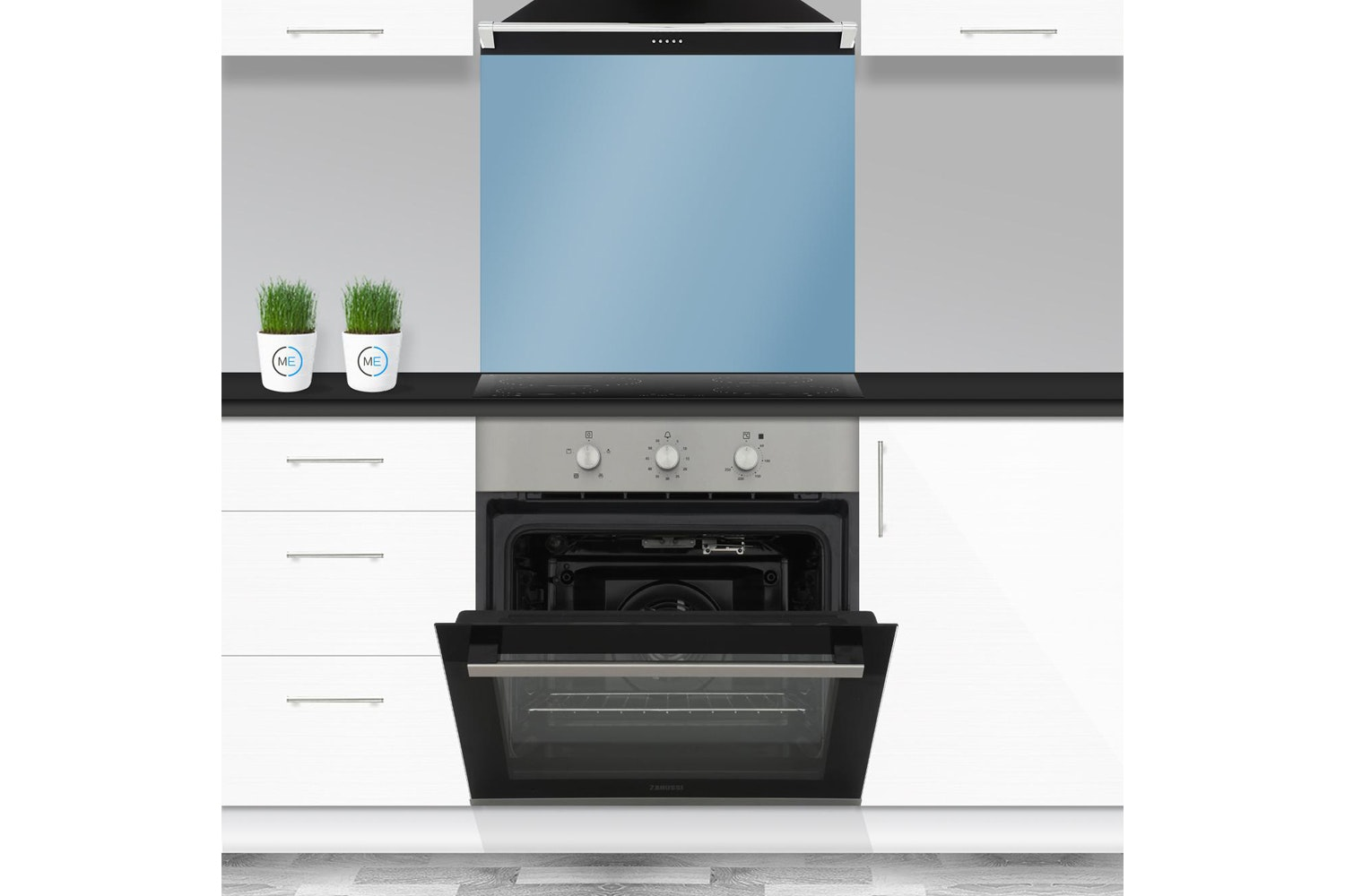 Zanussi Built In Electric Single Oven Stainless Steel | ZOB31471XK