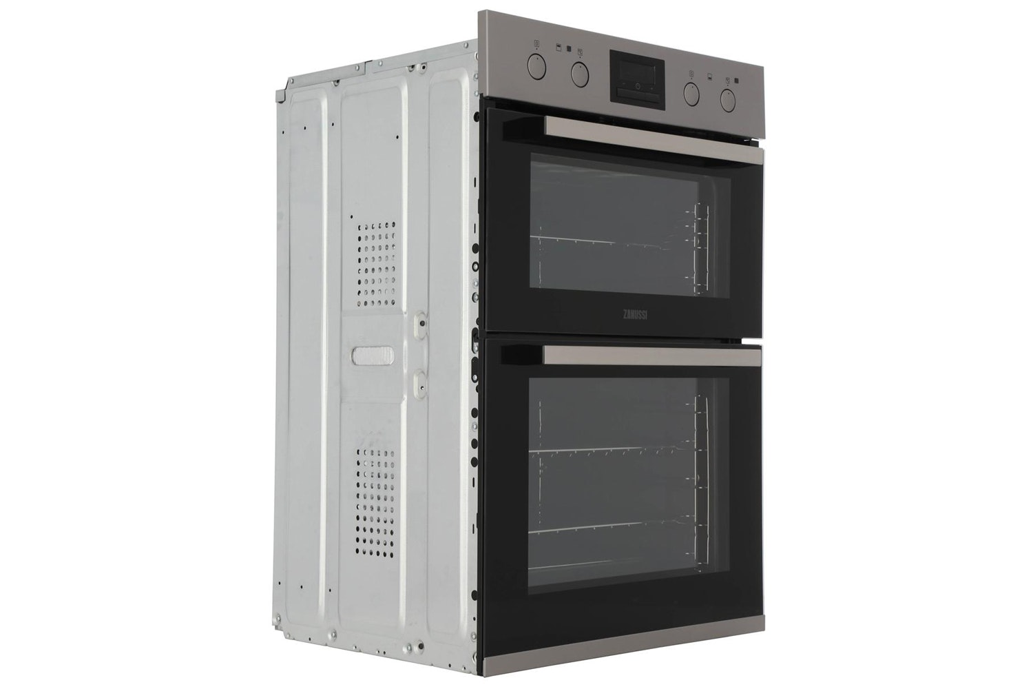 Zanussi Built In Electric Double Oven Stainless Steel | ZOD35802XK