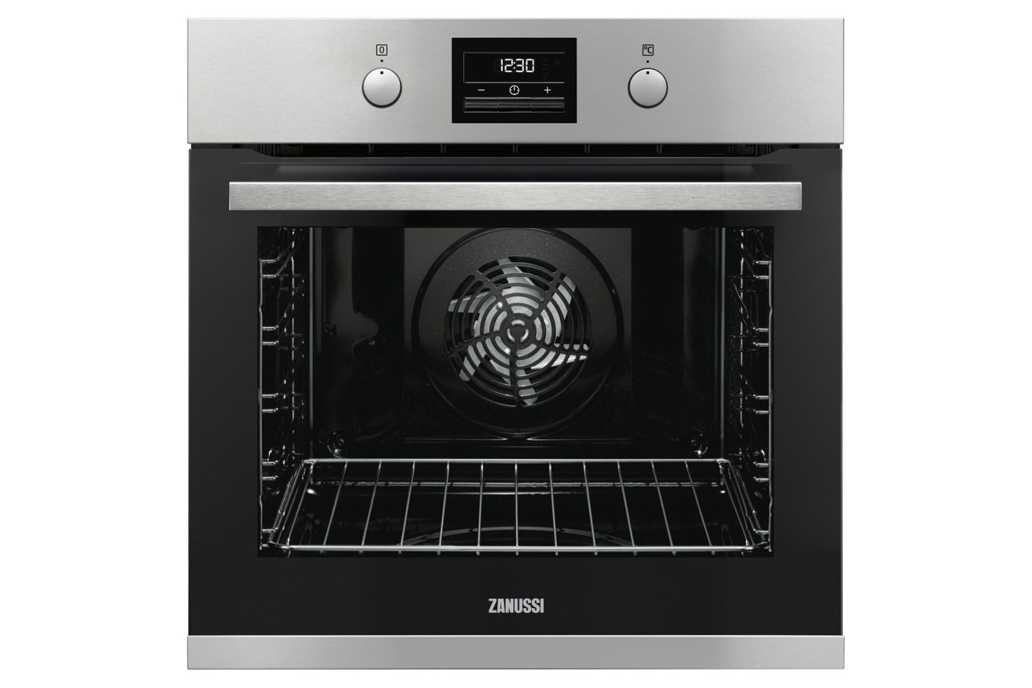 Zanussi Built-in Single Electric Oven Stainless Steel | ZOP37982XK