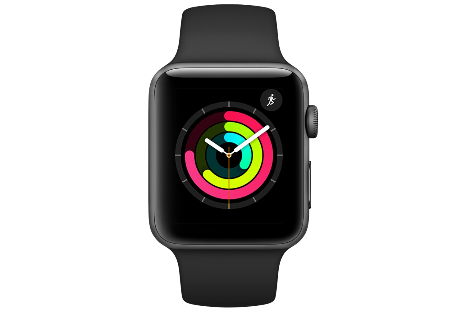 Apple Watch Series 3 GPS Space Grey Aluminium Case with Black Sport Band | 42mm