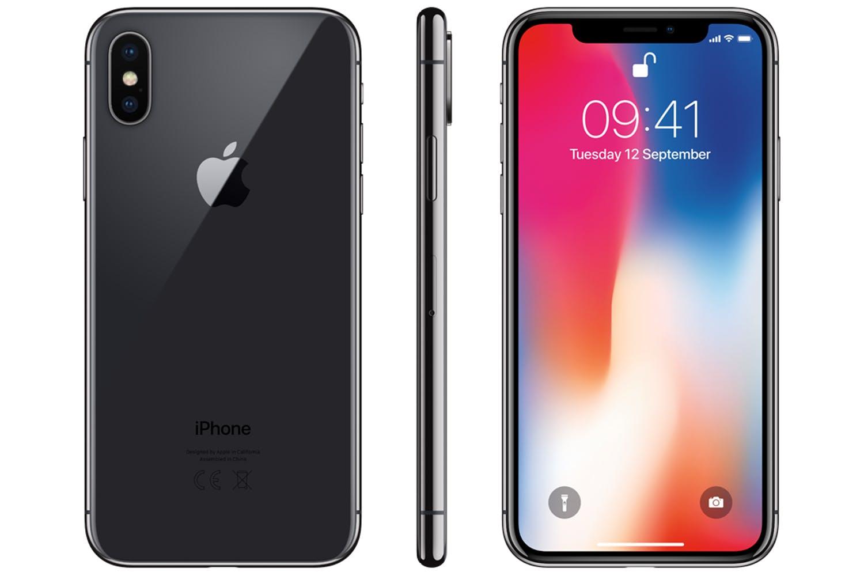 Space Grey Iphone X
